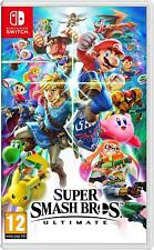 Super Smash Bros Ultimate Nintendo Switch Pre Order  7/12/18 New & Sealed