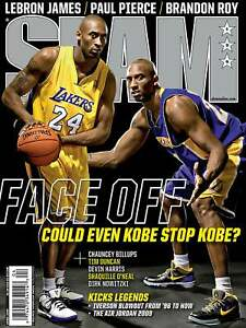 2009 SLAM FACE OFF > Kobe Bryant > Los Angeles Lakers > Mamba 🏆🏆🏆🏆🏆🐐