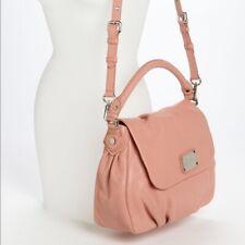 Marc Jacobs Classic Q Lil Ukita Blush Pink Leather Bag Silver Hardware ($428)