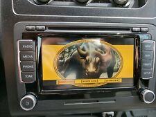 GOLF PASSAT TIGUAN AMAROK VW RNS 510 SAT NAV DVD MP3 SD LED RADIO T5 POLO 6R