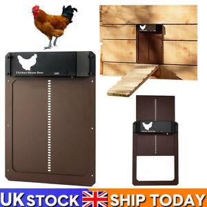 Automatic Chicken Coop Door Opener Light Sensor Automatic Chicken House Door UK