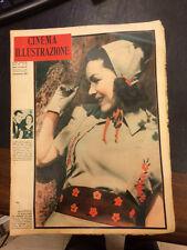 Cinema Illustrazione 1938 XIII n° 32 Maureen O'sallivan  23/12