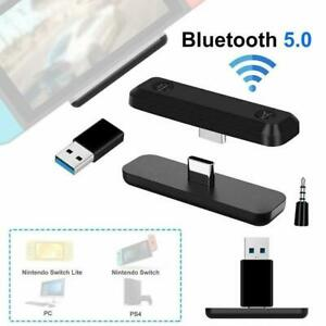 USB Bluetooth Audio Transmitter Receivers Adapter For Nintendo Switch/Lite PS4