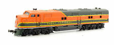 CON-COR N GAUGE GREAT NORTHERN ORANGE/BLACK PA-1 DIESEL LOCOMOTIVE (5A)