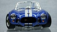 American Muscle Shelby Cobra 427S/C 1964 Blue Road Signature 1:18 Toy Model Car
