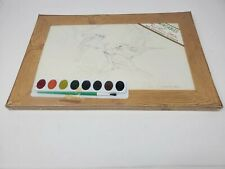 Paintables by Red Farm Studio 6 Bird Scenes and 8 colors to paint Nip vintage