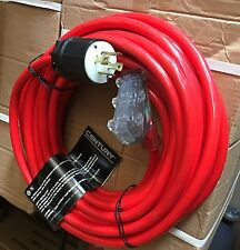 New Century Wire/Cable extension 30-Amp 50' Generator Cord with 3-Outlets