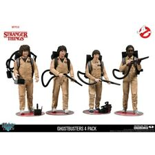 Mcfarlane - Stranger Things Ghostbusters Deluxe Box 4-Pack Action Figures
