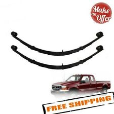 """Pro Comp 22415 Rear 4"""" Lifted Leaf Springs - 99-07 Ford F250 F350 4WD - Set of 2"""