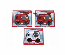 Emergency Vehicle with Light & Sound - Friction Power - 3 Assorted (HL522)