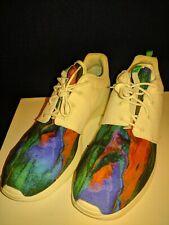 online store e34af 5f2a0 Nike Roshe One Print Tye Dye Mens Sail Menta Running Shoes AR1950 100 Sz 14