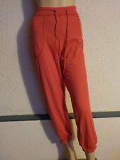 Pantalon de danse TEMPS DANSE PP314, bambou et élasthane - Rubis en taille M