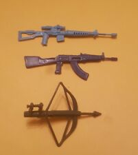 Gi joe vintage lot 3 weapons 1982