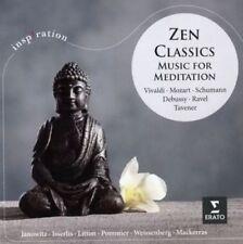 ZEN CLASSICS Music For Meditation CD NEW Vivaldi Mozart Schumann Debussy Ravel