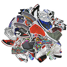 100 Random Jordan Yeezy Sneaker Laptop Phone Car Matte Finish Sticker Pack Lot