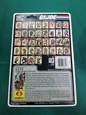 G.I. GI JOE 1986 B.A.T.S. BATS Action Figure CARDBACKER 86 BAT