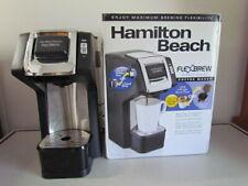 Hamilton Beach FlexBrew Single-Serve Plus Coffee Maker in Black (49979)