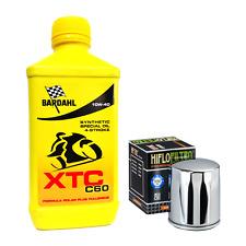 Kit tagliando Bardahl XTC 10W40 filtro olio Harley Davidson Sportster - Softail