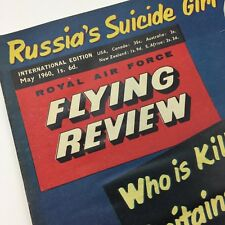 Flying Review Magazine May 1960 Royal Air Force Russia's Suicide Girl BSA ad