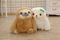 Birthday Holiday Xmas Gift Cute Animal Sloth Stuffed Plush Toy Cushion Pillow