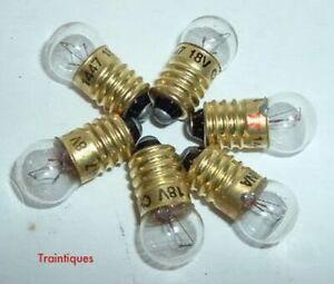 #1447 18 volt Small Globe Screw Base Bulbs L@@K