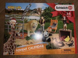 ~ღ♥ Schleich Adventskalender Wild Life 97702 NEU! & OVP! ღ♥~