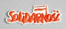 Sew-On Patch - Solidarnosc
