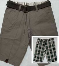 RIVERSIBLE SHORT Gray Size 28 to 34