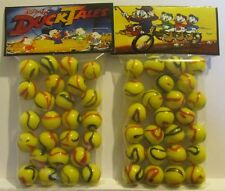 2 Bags Of Duck Tales Cartoon TV Show Promo Marbles