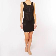 La Perla Dunes Short Black Beach Dress - Size IT 42 - Brand New