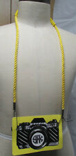 SFK Camera Strap Or for Purse  NWT Anthropologie Color Yellow   $84 retail