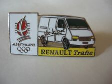 PINS RENAULT *RENAULT TRAFIC* (JEUX OLYMPIQUES D'HIVER ALBERTVILLE 92)