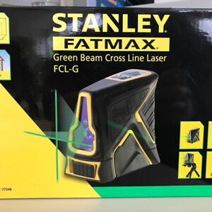 NEW Green Beam X Line Self Levelling Green Laser FCL-G  STAN LEY