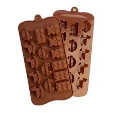 Baby Toys Bear Silicone Soap mold Candy Chocolate Fondant Tray Building Blo