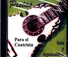 CUATRO - PISTAS PARA EL CUATRISTA - SEIS Y AGUINALDOS -CD