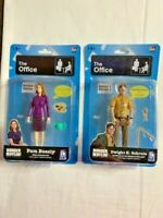 "The Office Dwight K. Schrute & Pam Beesly | 5"" Action Figures Series 1 - NEW"