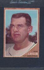 1962 Topps #033 Don Larsen Giants VG/EX *805