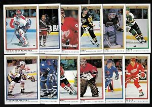 1990-91 O PEE CHEE 90-91 OPC PREMIER NHL HOCKEY CARD 1-132 SEE LIST