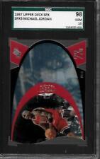 1997 SPX MICHAEL JORDAN DIE-CUT RARE  BASKETBALL CARD GRADED SGC 98 MINT/PSA 10
