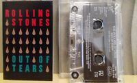 THE ROLLING STONES - OUT OF TEARS - TAPE CASSETTE SINGLE ..