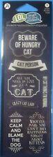 Hampton Art Lol Cat-Person Sticker Sheet