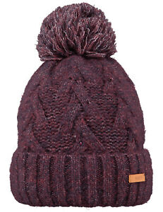 Barts Iphe Bobble Hat in Purple