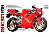 TAMIYA 1:12 KIT MOTO DA COSTRUIRE MOTORCYCLE DUCATI DESMOQUATTRO 916  ART 14068