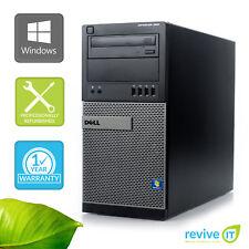 Dell Optiplex 990 MT  i7-2600 3.40GHz 4GB 500GB Win 10 Pro 1 Yr Wty