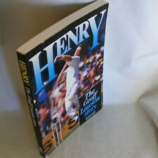 CRICKET Book ... Henry ... The Geoff Lawson Story ... Foreword by  Dennis Lillee
