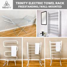 TRINITY Bathroom Ladder Towel Warmer Electric Heated Towel Rail