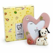 , Baby Pink CTG, Cute Novelty Dalmatian Picture Frame for Kids 3 x 4 inches
