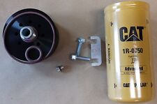 Duramax CAT Fuel Filter Adapter  W/ FILTER, SPACER, BLEED BOLT- CATERPILLAR