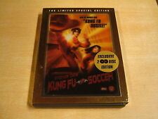 2-DISC LIMITED SPECIAL EDITION DVD / KUNG FU SOCCER ( STEPHEN CHOW )