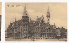 Belgium, Gent, De Post Postcard, A479